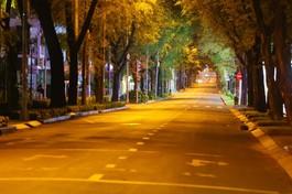 Đường TP.HCM sau 18 giờ vắng bóng người theo chỉ thị của cơ quan chức năng - Ảnh: Ngô Trần Hải An