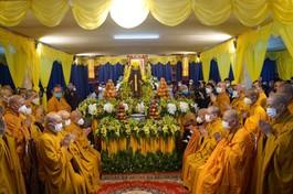 Tang lễ Đại lão Hòa thượng Thích Phổ Tuệ tổ chức tại Tổ đình Viên Minh, trú xứ gắn bó với cả đời tu hành gần 100 năm của ngài