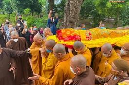 [Video] Tang lễ Đại lão Hòa thượng Thích Phổ Tuệ - Pháp chủ GHPGVN