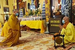 Trung ương GHPGVN đề nghị các trường hạ, học viện Phật giáo thực hiện nghiêm quy định 5K