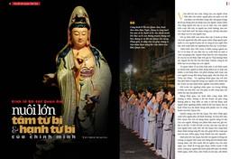 Bài trên Báo Giác Ngộ số 1123 - Thiết kế: Phòng Mỹ thuật BGN/Tống Viết Diễn