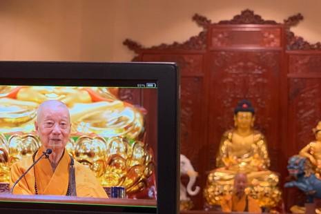 [TRỰC TUYẾN] Trưởng lão Hoà thượng Thích Trí Quảng thuyết giảng về yếu chỉ của Đức Phật