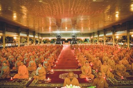 19 giờ tối nay, Học viện Phật giáo VN tại TP.HCM sẽ tổ chức lễ tưởng niệm Đức Pháp chủ GHPGVN