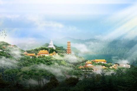 Bản vẽ thiết kế công trình chùa Tương Dương