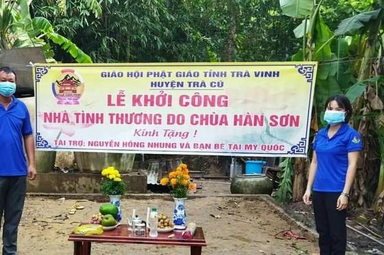 Chùa Hàn Sơn khởi công xây dựng nhà tình thương số 11
