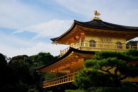 Chùa Gác Vàng – Nhật Bản tuyệt đẹp trong mùa Xuân