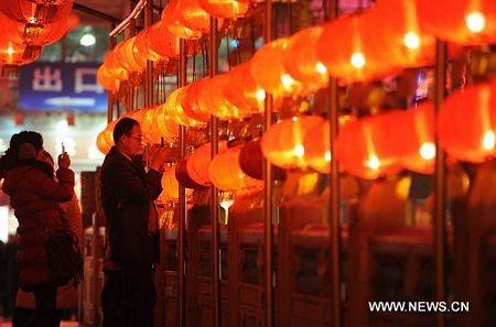 Trung Quốc: Lung linh lễ hội đèn lồng Rằm tháng Giêng