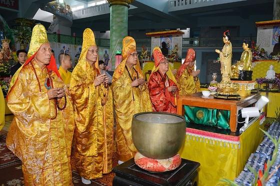 Khai đàn Dược Sư cầu an tại chùa Quan Thế Âm