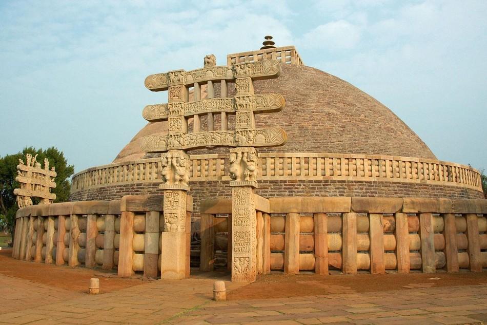 Đại tháp Sanchi, tại Ấn Độ