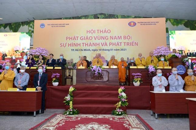 Khai mạc Hội thảo Phật giáo vùng Nam bộ ảnh 8