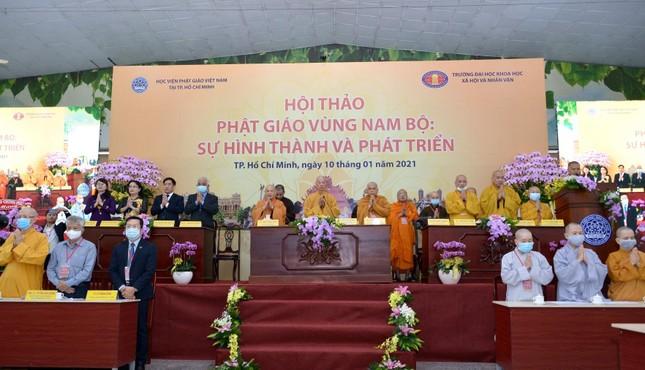 Khai mạc Hội thảo Phật giáo vùng Nam bộ ảnh 1