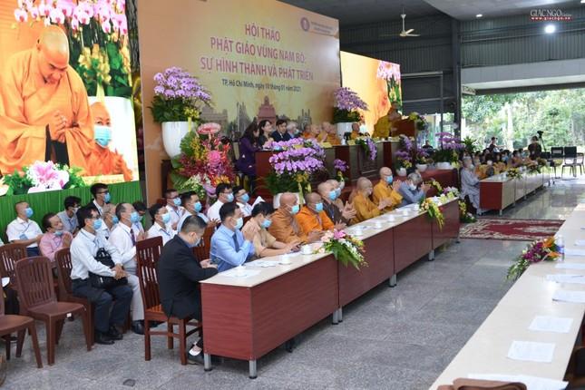 Khai mạc Hội thảo Phật giáo vùng Nam bộ ảnh 17