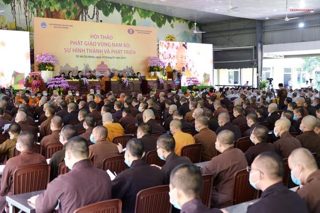 Khai mạc Hội thảo Phật giáo vùng Nam bộ ảnh 20