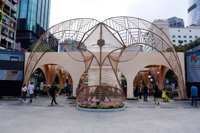 Ngắm Đường hoa Nguyễn Huệ Tết Tân Sửu - 2021 qua ảnh ảnh 5