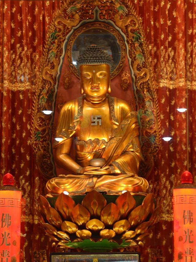 Cảnh chùa Sài Gòn - TP.HCM lung linh trong nắng xuân ảnh 20