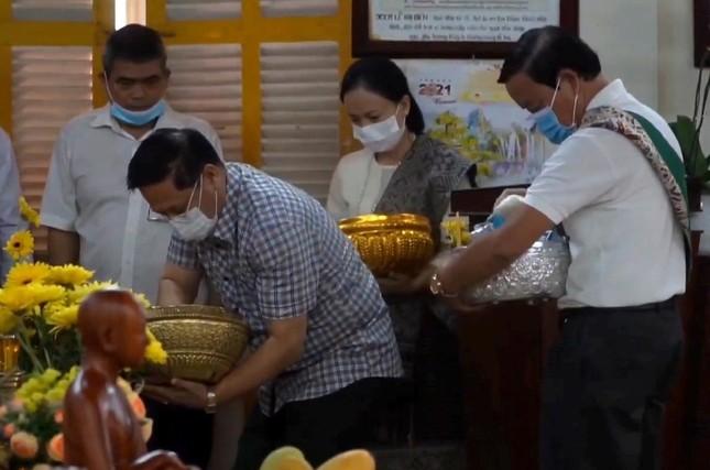 Đà Nẵng: Lễ Rằm tháng Giêng và thọ Đầu Đà tại chùa Tam Bảo ảnh 1