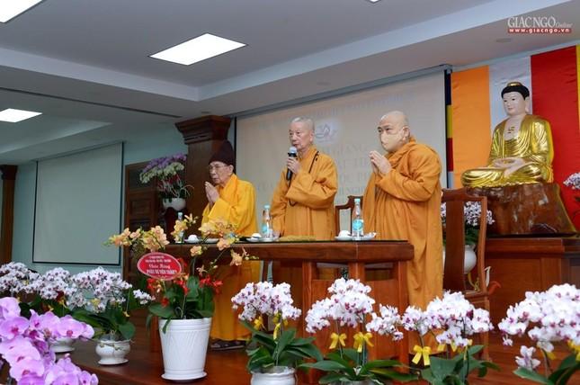 Khai giảng lớp đầu tiên Khoa Luật học thuộc Học viện Phật giáo VN tại TP.HCM ảnh 1