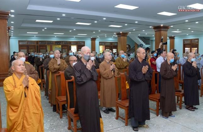 Khai giảng lớp đầu tiên Khoa Luật học thuộc Học viện Phật giáo VN tại TP.HCM ảnh 8