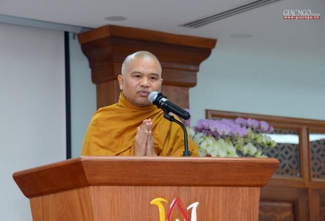 Khai giảng lớp đầu tiên Khoa Luật học thuộc Học viện Phật giáo VN tại TP.HCM ảnh 10