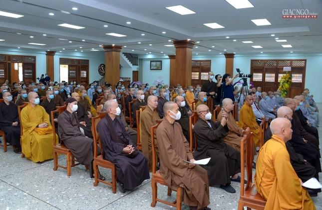 Khai giảng lớp đầu tiên Khoa Luật học thuộc Học viện Phật giáo VN tại TP.HCM ảnh 9