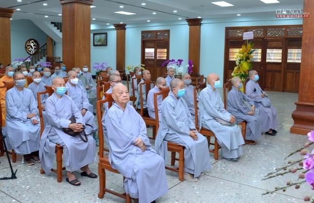 Khai giảng lớp đầu tiên Khoa Luật học thuộc Học viện Phật giáo VN tại TP.HCM ảnh 11