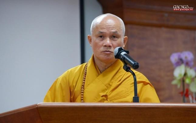 Khai giảng lớp đầu tiên Khoa Luật học thuộc Học viện Phật giáo VN tại TP.HCM ảnh 2