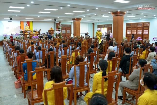 Khai giảng lớp đầu tiên Khoa Luật học thuộc Học viện Phật giáo VN tại TP.HCM ảnh 7