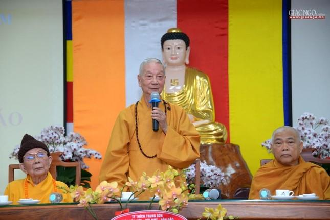 Khai giảng lớp đầu tiên Khoa Luật học thuộc Học viện Phật giáo VN tại TP.HCM ảnh 3