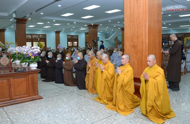 Khai giảng lớp đầu tiên Khoa Luật học thuộc Học viện Phật giáo VN tại TP.HCM ảnh 4