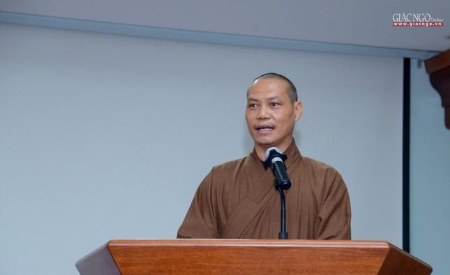 Khai giảng lớp đầu tiên Khoa Luật học thuộc Học viện Phật giáo VN tại TP.HCM ảnh 12
