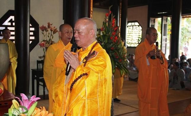 Trang nghiêm lễ tưởng niệm Đức Đại lão Hòa thượng Thích Tịnh Khiết tại Huế và TP.HCM ảnh 6