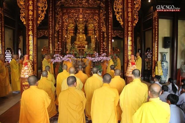 Trang nghiêm lễ tưởng niệm Đức Đại lão Hòa thượng Thích Tịnh Khiết tại Huế và TP.HCM ảnh 5