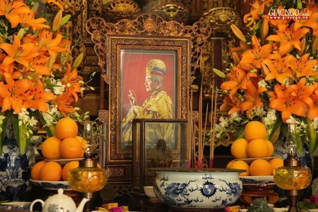 Trang nghiêm lễ tưởng niệm Đức Đại lão Hòa thượng Thích Tịnh Khiết tại Huế và TP.HCM ảnh 1