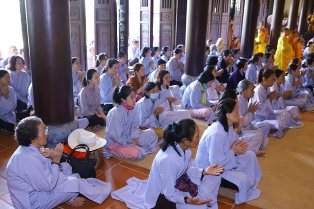 Trang nghiêm lễ tưởng niệm Đức Đại lão Hòa thượng Thích Tịnh Khiết tại Huế và TP.HCM ảnh 11