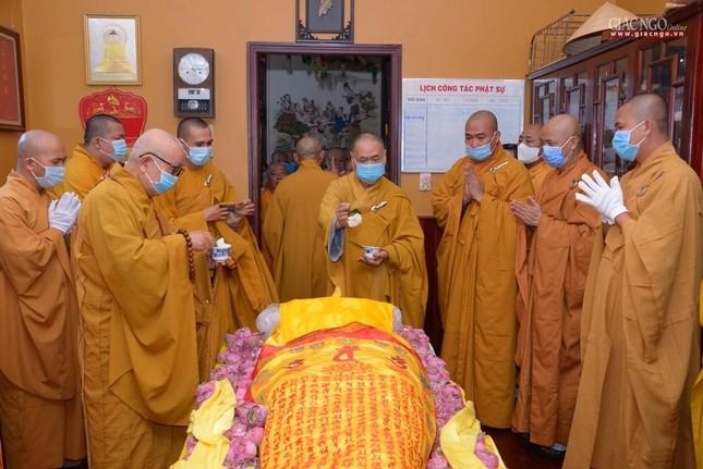 Lễ nhập kim quan Hòa thượng Thích Nhật Ấn tại Tổ đình Long Thạnh ảnh 9