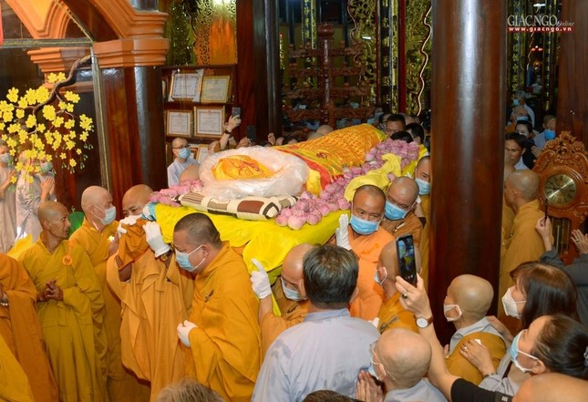 Lễ nhập kim quan Hòa thượng Thích Nhật Ấn tại Tổ đình Long Thạnh ảnh 10