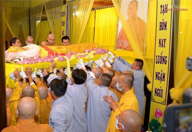 Lễ nhập kim quan Hòa thượng Thích Nhật Ấn tại Tổ đình Long Thạnh ảnh 11