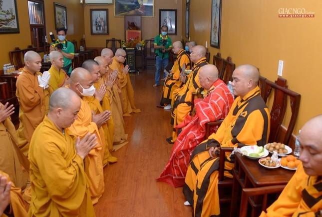 Lễ nhập kim quan Hòa thượng Thích Nhật Ấn tại Tổ đình Long Thạnh ảnh 20