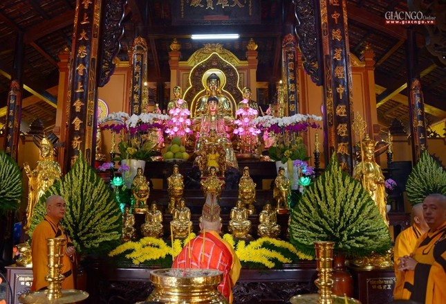 Lễ nhập kim quan Hòa thượng Thích Nhật Ấn tại Tổ đình Long Thạnh ảnh 22