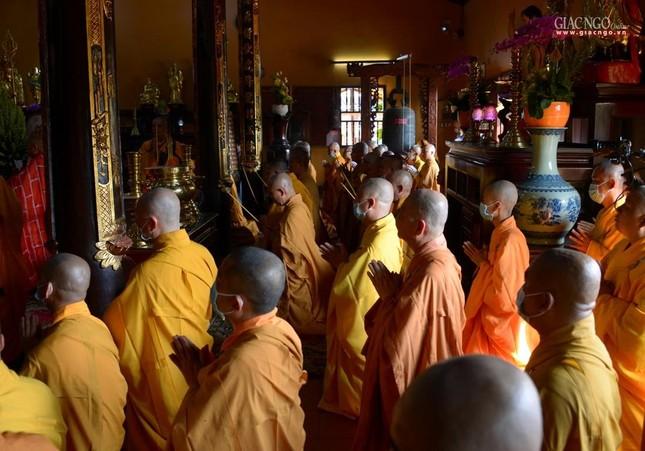Lễ nhập kim quan Hòa thượng Thích Nhật Ấn tại Tổ đình Long Thạnh ảnh 23