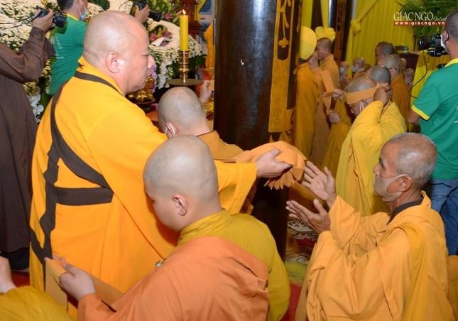 Lễ nhập kim quan Hòa thượng Thích Nhật Ấn tại Tổ đình Long Thạnh ảnh 26