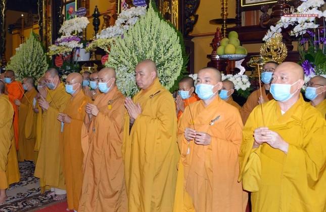 Giáo hội Trung ương, TP.HCM viếng tang Hòa thượng Thích Nhật Ấn ảnh 8