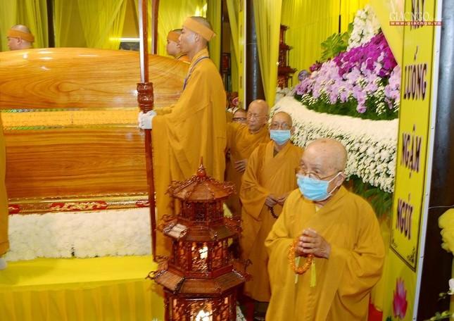 Giáo hội Trung ương, TP.HCM viếng tang Hòa thượng Thích Nhật Ấn ảnh 14