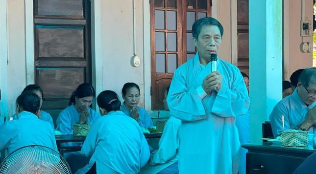 Bữa cơm chánh niệm của Phật tử tại chùa Phật Học Quảng Trị ảnh 2