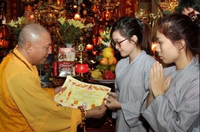 Trung ương Giáo hội ý kiến về việc Phật tử kê khai tôn giáo là Phật giáo nhưng không được chấp nhận ảnh 1