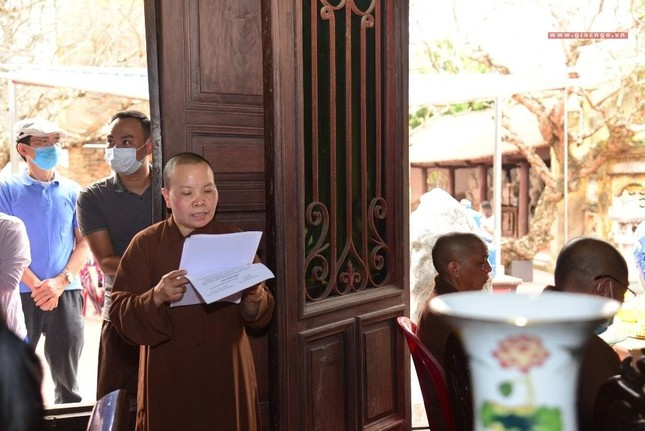 Hải Phòng: Kỷ luật Đại đức Thích Bản Phúc (chùa Trung Hành) ảnh 5