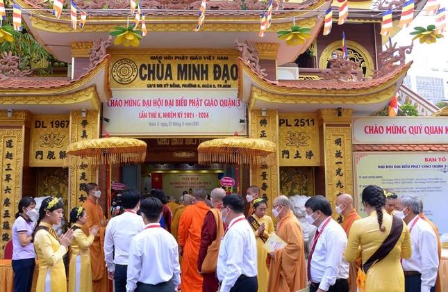 Đại hội đại biểu Phật giáo quận 3 đã suy cử Tân Ban Trị sự nhiệm kỳ 2021-2026 với 34 thành viên ảnh 9