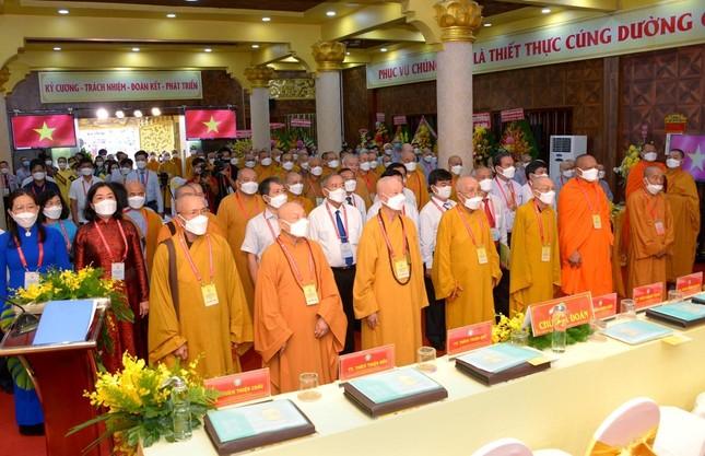 Đại hội đại biểu Phật giáo quận 3 đã suy cử Tân Ban Trị sự nhiệm kỳ 2021-2026 với 34 thành viên ảnh 10