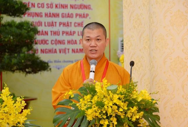 Đại hội đại biểu Phật giáo quận 3 đã suy cử Tân Ban Trị sự nhiệm kỳ 2021-2026 với 34 thành viên ảnh 11