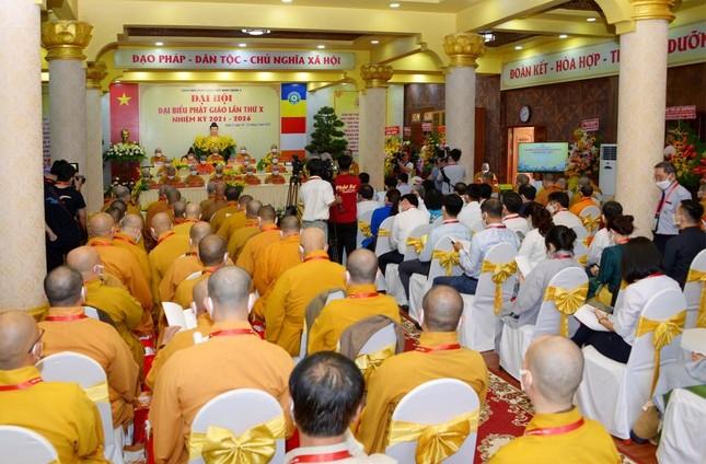 Đại hội đại biểu Phật giáo quận 3 đã suy cử Tân Ban Trị sự nhiệm kỳ 2021-2026 với 34 thành viên ảnh 4